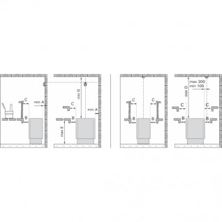 Электрическая печь для сауны Harvia Elegance F16.5
