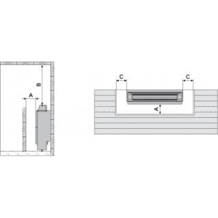 Электрическая печь для сауны Harvia Hidden Heater HH12