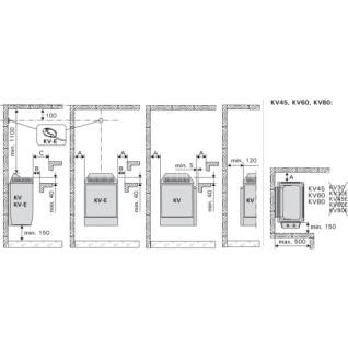 Электрическая печь для сауны Harvia Topclass KV45E