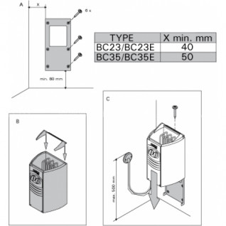 Электрическая печь для сауны Harvia Vega Compact BC23