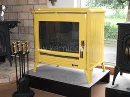 Печь-камин Invicta Modena желтый