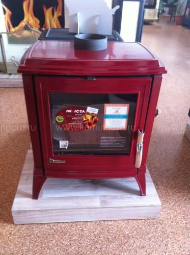 Печь-камин Invicta Le Modena красная эмаль