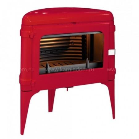 Печь-камин Invicta Luna красный