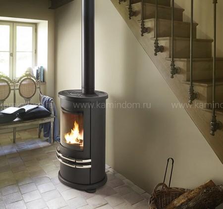 Печь-камин Invicta Orense chrome
