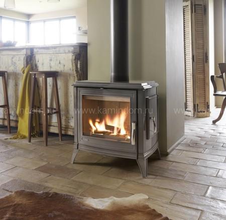 Печь-камин Invicta Sedan 10 серый