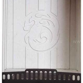 Изразцовая печь-камин София Барокко изразец песочная