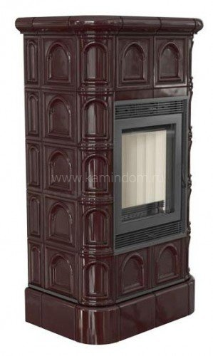 Кафельная печь-камин Kratki Blanka 8 kW