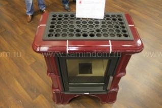 Кафельная печь-камин ABX Bavaria K (кафельный цоколь, вставка комбо)