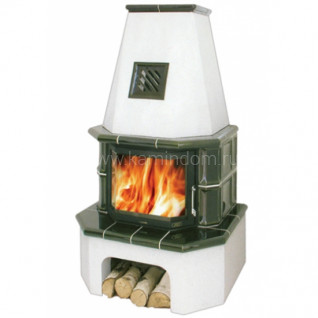 Кафельная печь-камин ABX Estonie 6
