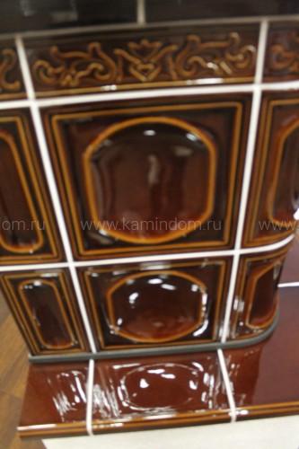 Кафельная печь-камин ABX Laponie