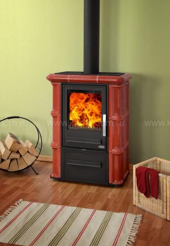Кафельная печь-камин ABX Olympie K (вставка комбо)