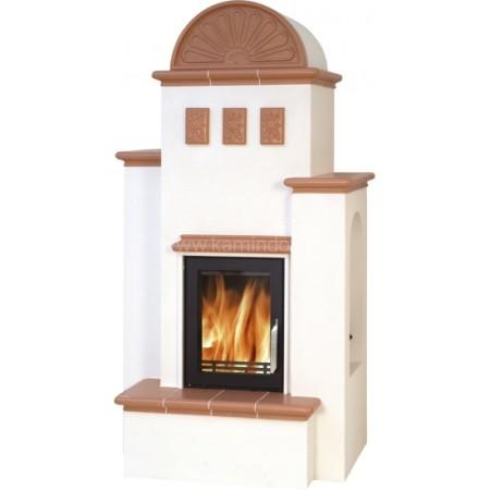 Кафельная печь-камин ABX Westfalia 710