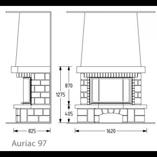 Каминная облицовка Supra Auriac 97