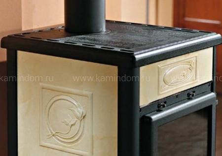 Отопительно-варочная печь La Nordica Rossella Plus