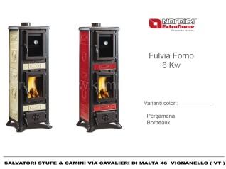 Печь-камин La Nordica Fulvia Con Forno