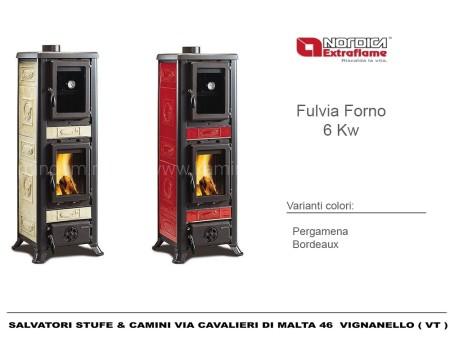 Печь-камин La Nordica Fulvia Forno