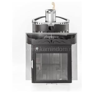 Дровяная печь для бани Ферингер Гармония с закрытой каменкой
