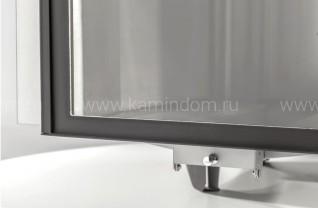 Дровяная печь для бани Ферингер «Золотое сечение» «Классика - треугольник Экран» с открытой каменкой