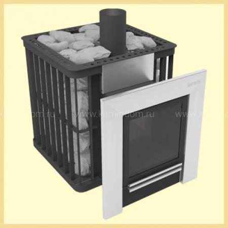 Дровяная печь для бани МЕТА METAFIRE Сахалин 16