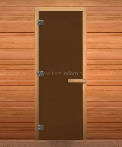 Дверь для бани/сауны LK Бронза (осина)
