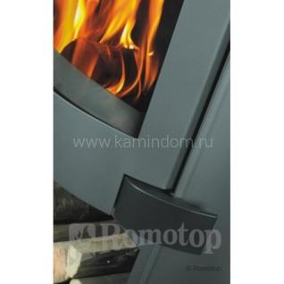 Печь-камин Romotop AVILA листовой металл + камень