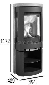 Печь-камин Jotul F 377 Advance