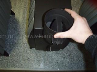 Отопительная печь Термофор Огонь-батарея 5 Антрацит