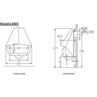 Камин Don-bar 5005