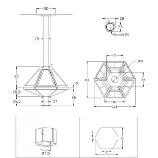 Камин Don-bar 9600C