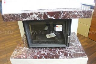 Каминная облицовка Kratki Firebird Байкал под топку Oliwia/LP (стекло слева-справа)