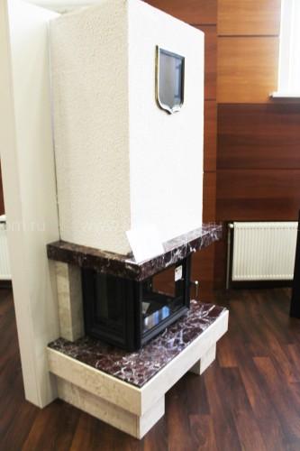 Каминная облицовка Kratki Firebird Байкал под топку Zuzia/LP (стекло слева-справа)
