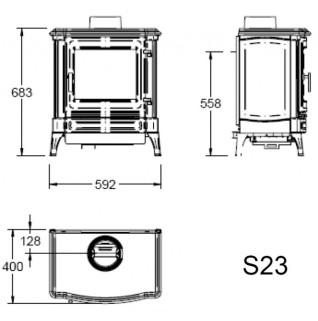 Отопительная печь Efel S 23