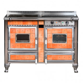Отопительно-варочная печь-плита J.Corradi Borgo Antico 120LGET