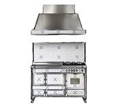 Отопительно-варочная печь-плита J.Corradi Borgo Antico 140LGE