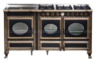 Отопительно-варочная печь-плита J.Corradi Country 160LTGE