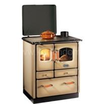 Отопительно-варочная печь-плита Sideros SOGNO 35 (капучино)