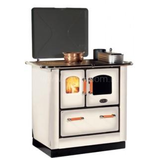 Отопительно-варочная печь-плита Sideros STANDARD 412 (белая)