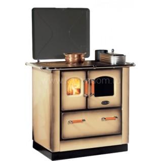 Отопительно-варочная печь-плита Sideros STANDARD 412 (капучино)