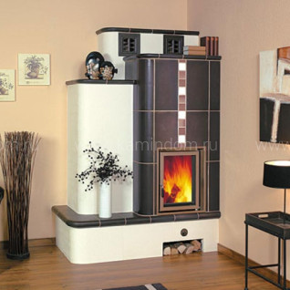 Кафельная печь-камин Hark 5/100.1
