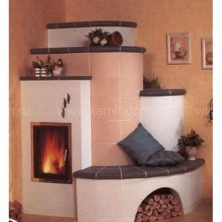 Кафельная печь-камин Hark 5/88.1