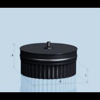 Заглушка Lokki с конденсатоотводом-П эмалированная