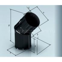 Отвод Lokki эмалированный для дымохода 135°