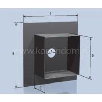 Потолочная разделка Lokki с покрытием из полимеров