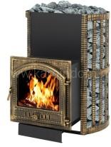 Дровяная печь для бани Везувий Скиф 38 ВК (205)