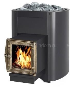 Дровяная печь для бани Везувий Русичъ 16 ВС