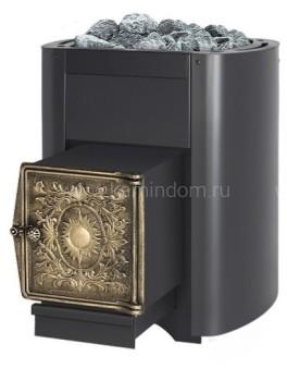 Дровяная печь для бани Везувий Русичъ 16 ВЧ