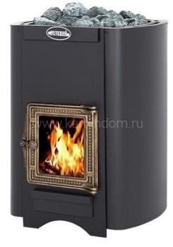 Дровяная печь для бани Везувий Русичъ 22 С