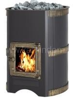 Дровяная печь для бани Везувий Лава 28 С