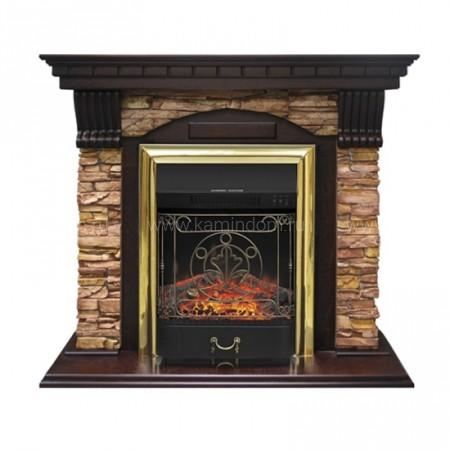 Портал Royal Flame Dublin арочный скальный под очаг Majestic FX / Fobos FX