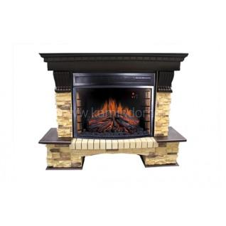 Портал Royal Flame Pierre Luxe сланец под очаг Panoramic 25FX